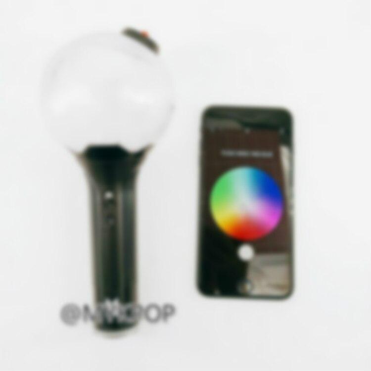 [MYKPOP] KPOP bâton lumineux Ver.3 Bluetooth + changement de couleurs bâton lumineux KPOP Fans Collection SA19032003
