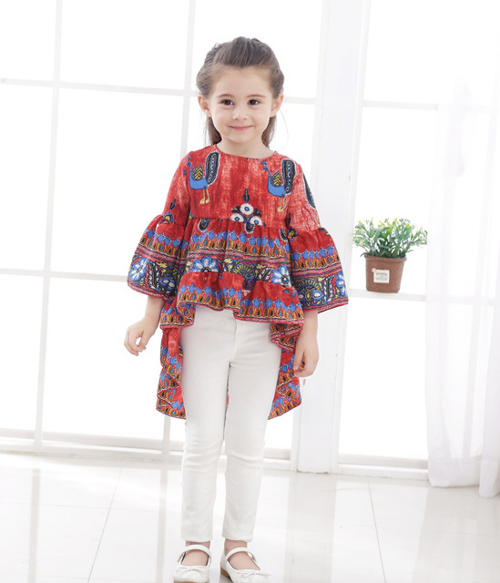 400 400y Newest Summer European Style Baby Clothes Toddler Kids 40040 Bell Inspiration Bell Sleeve Dress Pattern