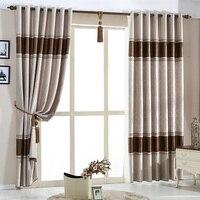 NAPEARL элегантный Гостиная шторы домашний текстиль современный люверсами шторы, изготовленные пряжи шторы ткань шторы один Панель