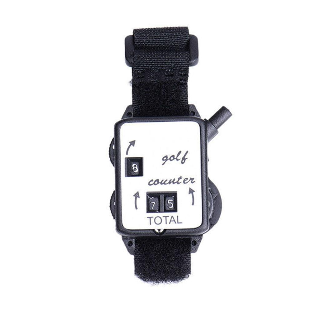 Durable Club Putt Portable Sport Counter Mechanical Outdoor Golf Stroke Mini Score Keeper Wristband Watch Type Shot
