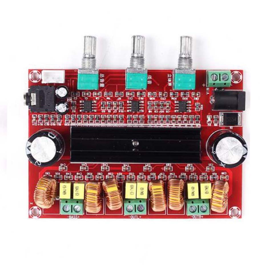 Lusya Tpa3116d2 21 Digital Audio Amplifier Board 280w 100w Wholesale Class D 2x 80w Stereo Circuit Design Tda7498 Subwoofer Amplificador Dc24v Xh M139 D3 005 In From Consumer Electronics On