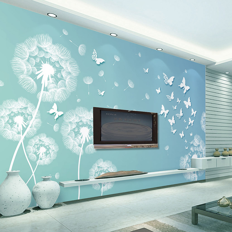Popular wallpaper wall coverings buy cheap wallpaper wall for Big wallpaper for wall