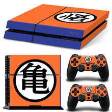 Dragon ball skin sticker for Sony playstation 4 PVC vinyl full body cover sticker for ps4 console and controller цена
