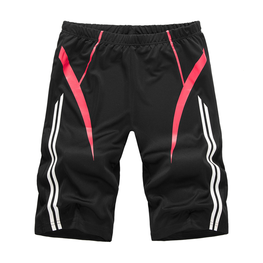 Men's Clothing Casual White Stripe Elastic Waist Shorts Sport Gym Men Superior Performance