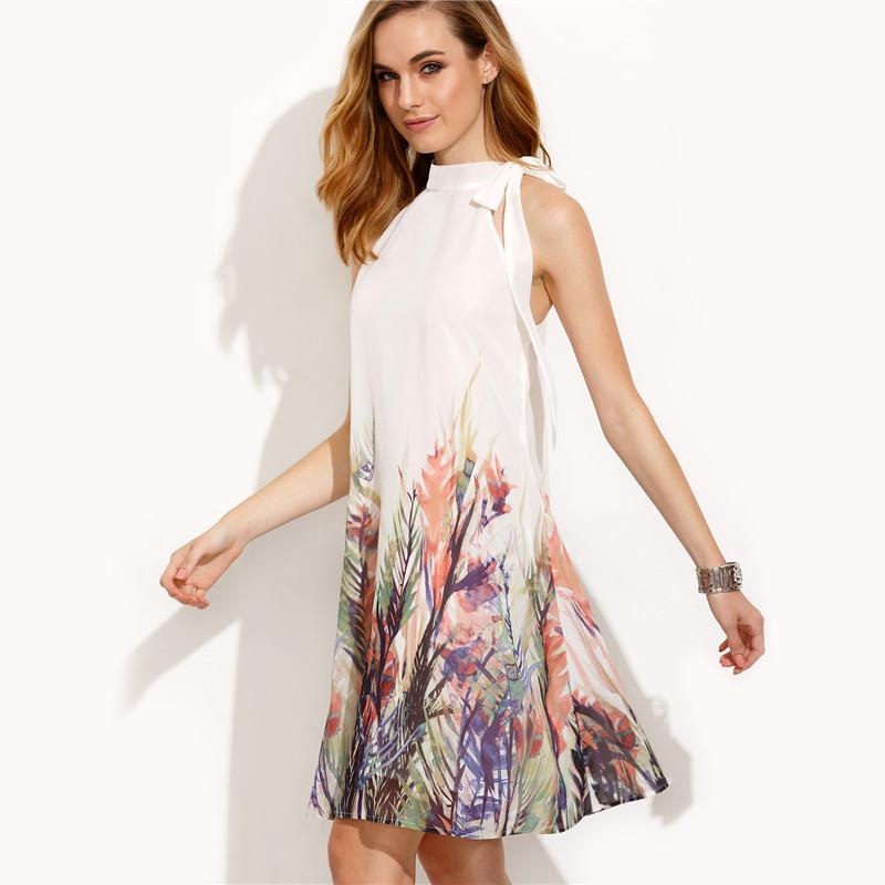 6ae8f267b79c SheIn Casual Dresses For Woman Boho Dress New Summer Style Womens ...