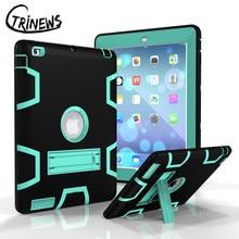 CTRINEWS Case Para Apple iPad 4 3 2 Pesada Armadura A Prueba de Golpes de Silicona De alta resistencia Soporte Duro de La Cubierta Para el ipad 2 Tablet PC Protectora caso