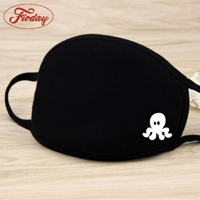 Cotton Mouth Face Mask Unisex Outdoor Anti-Dust Wearing Respirator Black Color High Quality Health Care A12D15 2