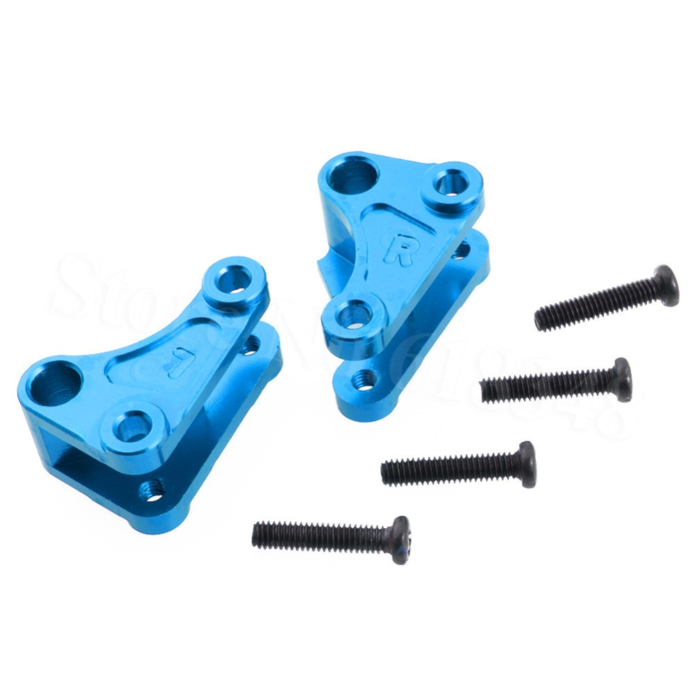 Aluminum Front Shock Rocker Arm Set L/R 0043 For FY-03 WLtoys 12428 12423 1/12 RC Car Crawler Short Course Truck Upgrade Parts metal spur differential main gear 62t 0015 for wltoys 12428 12423 1 12 rc car crawler short course truck upgrade parts