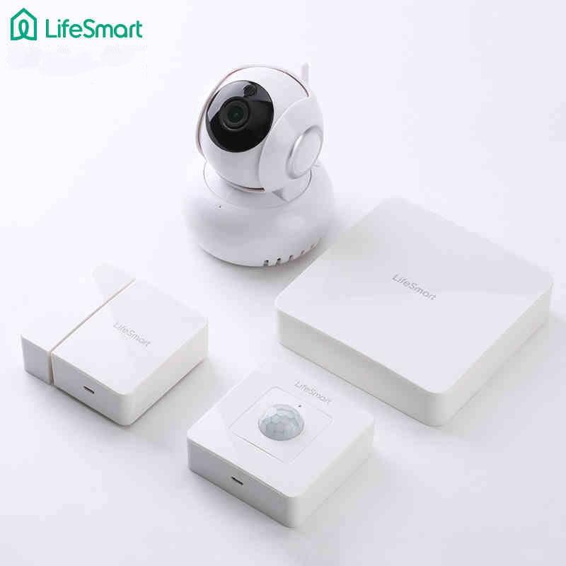 Smart Home LifeSmart Kit,Wifi Wireless HD 720P IP Camera+Smart Center+Door and Motion Sensor,Like Broadlink Alarm&Security Kit smart home продукты
