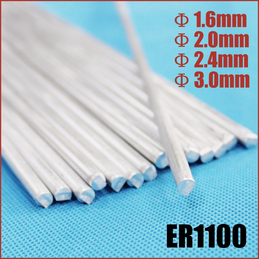 ER1100 aluminum tig welding rods repair brazing wire soldering ...