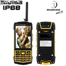 Original Android 6.0 Rugged N2 Phone 3G Smartphone IP68 Waterproof Phone shockproof GPS MT6580 Quad Core Russian Keyboard(China)