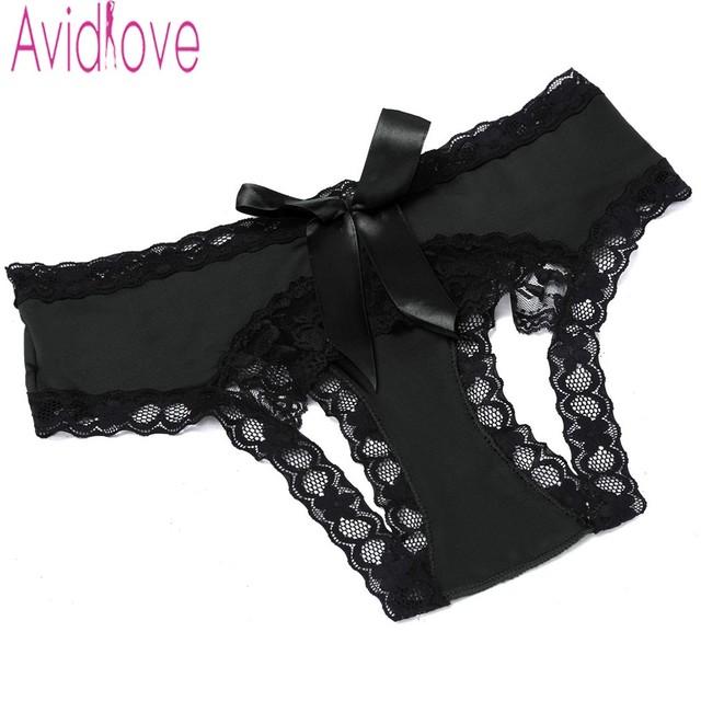 Sexy Panties Knickers Bikini Lingerie Hollow Flower