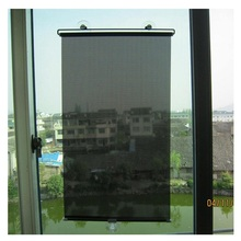 Sun shade blinds Telescopic curtain roller blinds sunscreen sucker type shading home curtains Office retractable