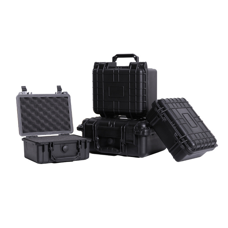 Protective Safety Toolbox Equipment Suitcase Instrument Box ABS Plastic Sealed Aviation Safety Toolbox With Foam Lining