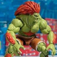 Tronzo Оригинальный Bandai Tamashii Наций Street Fighter СВЧ 16 см BLANKA передвижная, ПВХ фигурку Модель SF кукла игрушечные лошадки