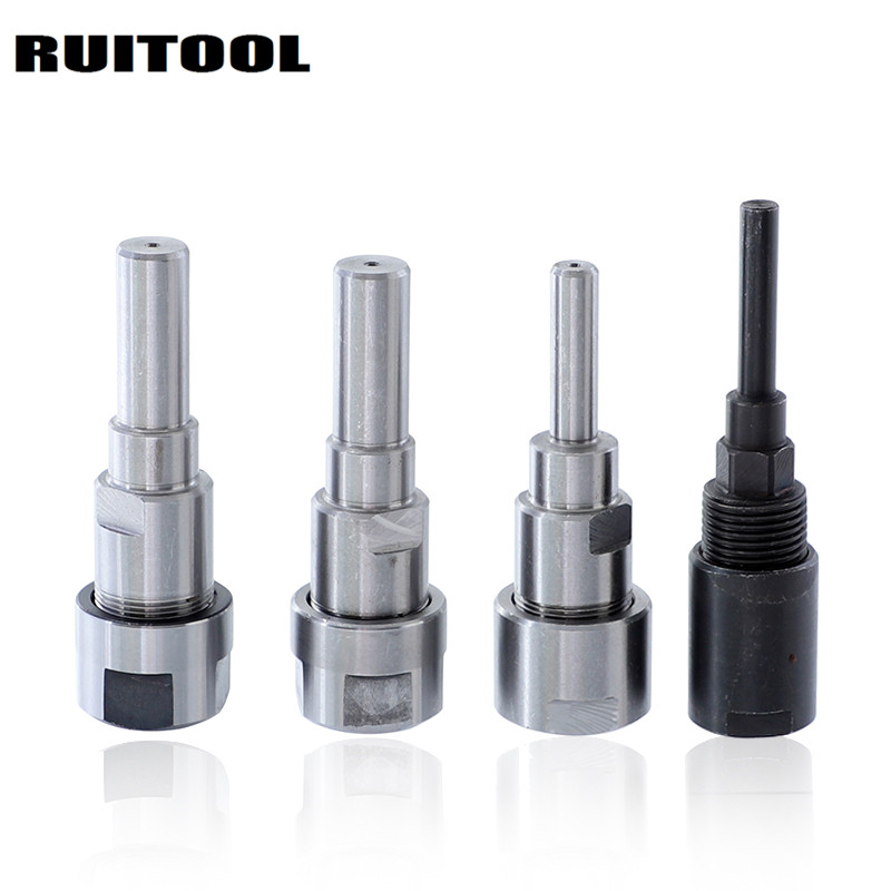 Router Bit Collet Extension Rod 1/4 8mm 12mm 1/2 Shank Collet Extension Chuck For Milling Wood Cutter 1PC цена