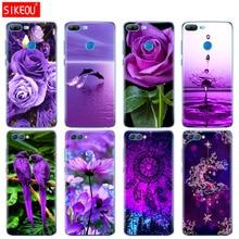 Силиконовый чехол для телефона для huawei Honor 10 V10 3c 4C 5c 5x 4A 6A 6C pro 6X7X6 7 8 9 LITE Бесконечность на фиолетовый