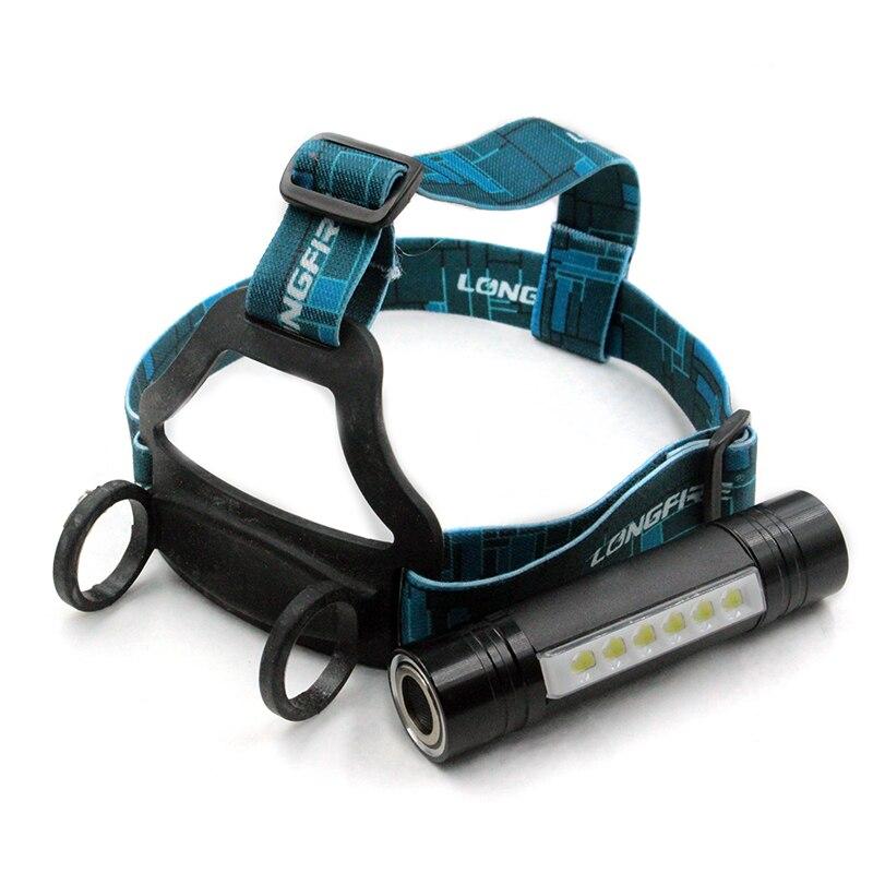Neue Design Led CREE Q5 2000Lm Wasserdichte scheinwerfer Scheinwerfer Cree 6 Stücke Camping Laterne Taschenlampe scheinwerfer durch 18650 oder 3 x AAA