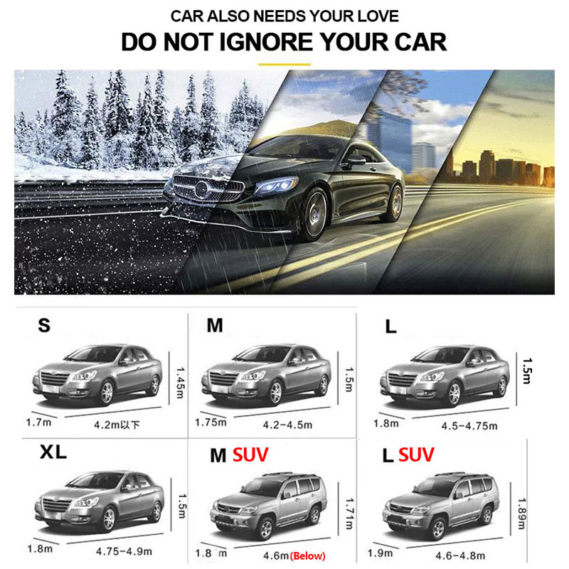 Image 2 - SEAMETAL Car Covers Sun Protection Sedan SUV Tent Reflective Covers Rain Frost Snow Dust Waterproof  Car covers Sunshade Outdoor-in Car Covers from Automobiles & Motorcycles