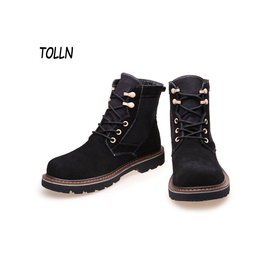 Compare Prices on Mens Leather Winter Boots- Online Shopping/Buy ...