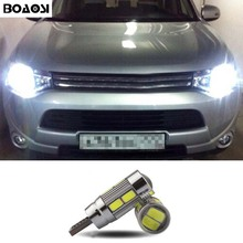 1pcs T10 10smd 5630 LED Clearance Light Error Free Eyebrow Eyelid Light Bulb For mitsubishi lancer 10 asx outlander 2013 pajero