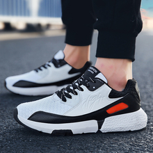 Big Size Men shoes Breathable Mesh Sneakers Super Light Outdoor Sports Running Shoes Fashion Athletic Training Footwear For Male man running shoes black red white sports shoes for male spring summer athletic footwear male breathable light sneakers running