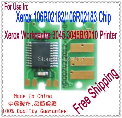 b3891c1c15b50 Kompatybilny Xerox Phaser 3010 Toner, Refill Toner Do Drukarki Xerox  Workcentre 3045 3045B, Dla Xerox 106R02182 106R02183