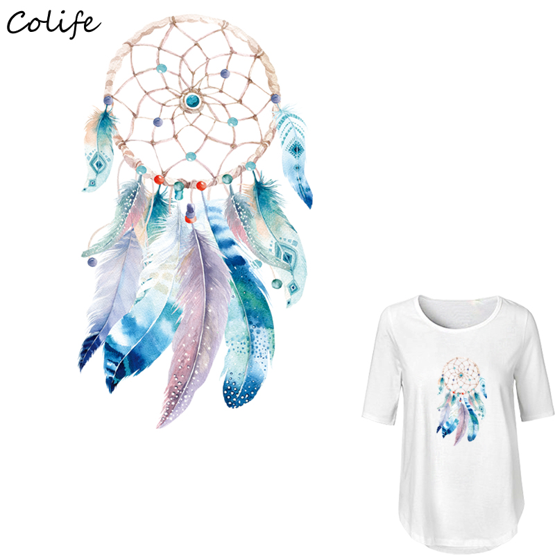 Video Games Fashion Style Mamao Boho Dreamcatcher Iron On Transfers Clothes Decoration Diy Accessory Washable New Design Print On T-shirt Clothes Stickers