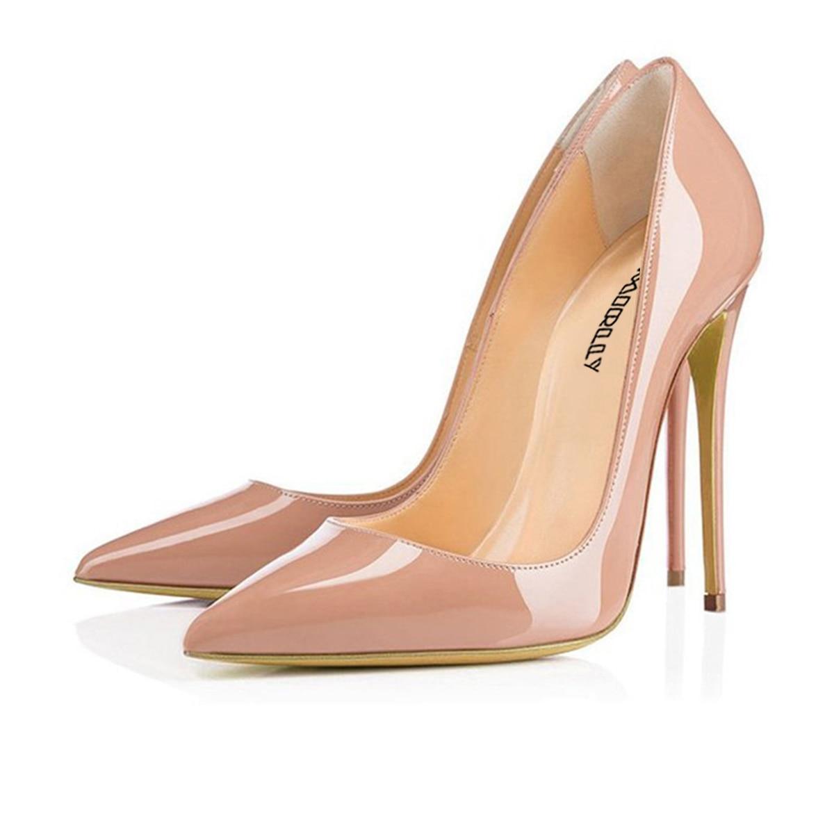 Aimrilly printemps mode dames à talons hauts pompes à la main confortable bout pointu chaussures à talons aiguilles taille US 4 15.5 vente en gros-in Escarpins femme from Chaussures    2