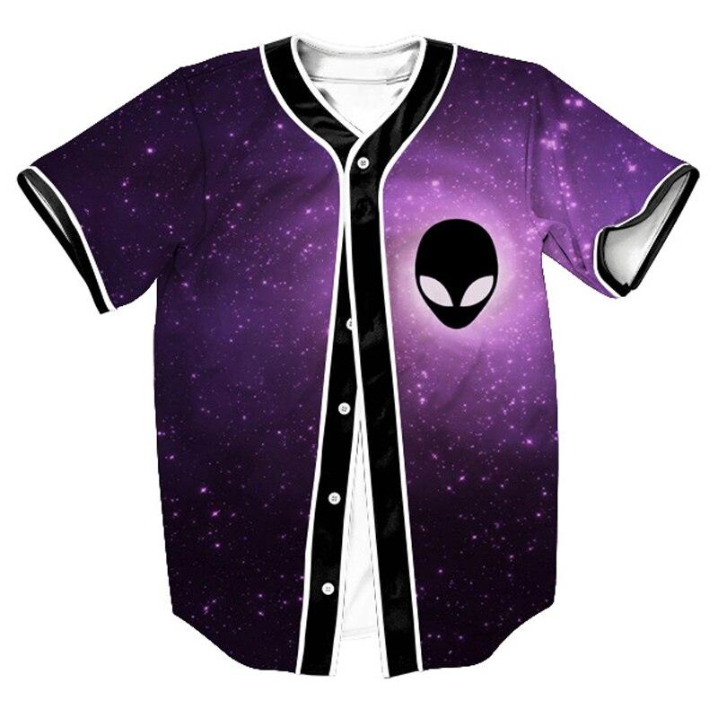 Cool Design Pink Floyd Baseball Jerseys 3D Baseball Shirt Men ...