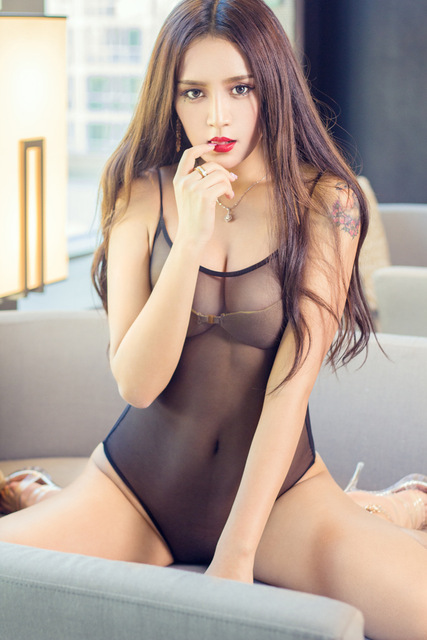 New Porn Women Lingerie Sexy Hot Erotic Thong Bodysuit Erotic Lingerie Porno Costumes Elastic Transparent Leotard Thong Catsuit