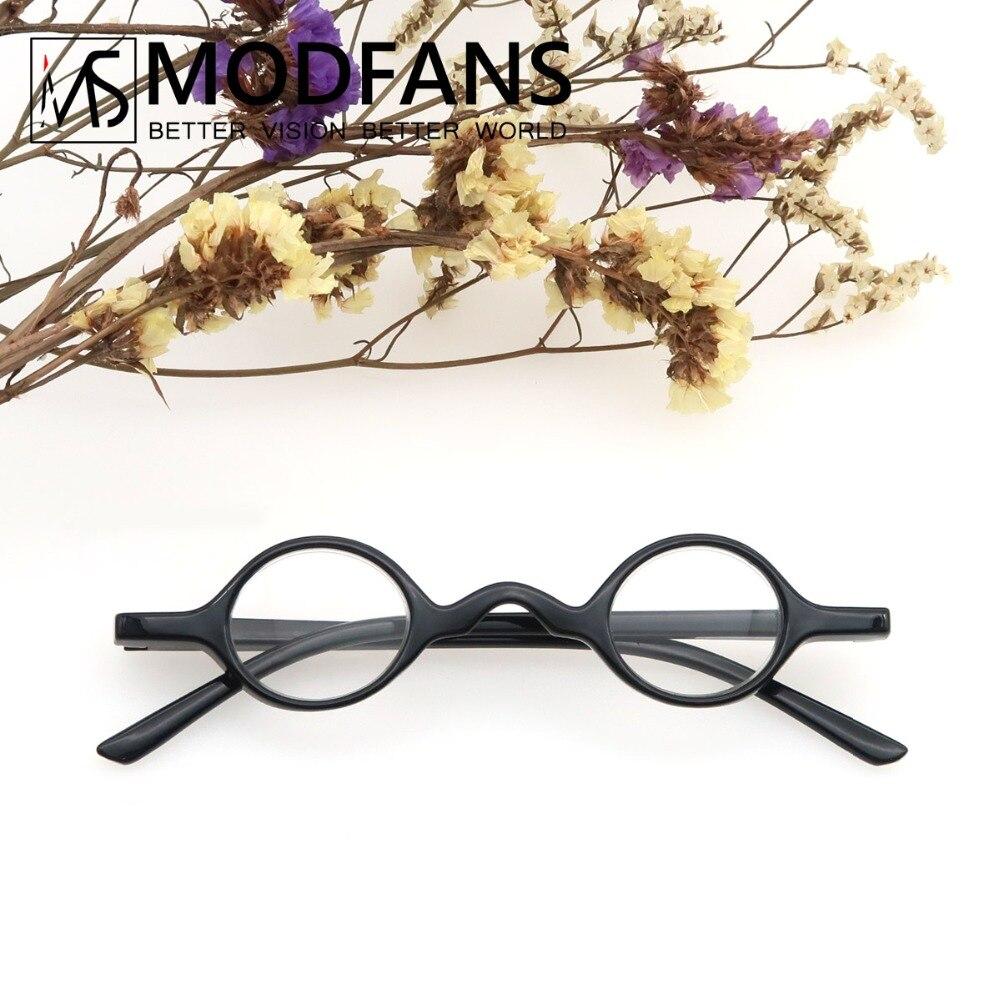 Small Vintage Frame Reading Glasses Men Women Readers Round Retro Presbyopic Glasses Full Frame Eyeglasses +1+1.5+2+2.5+3+3.5