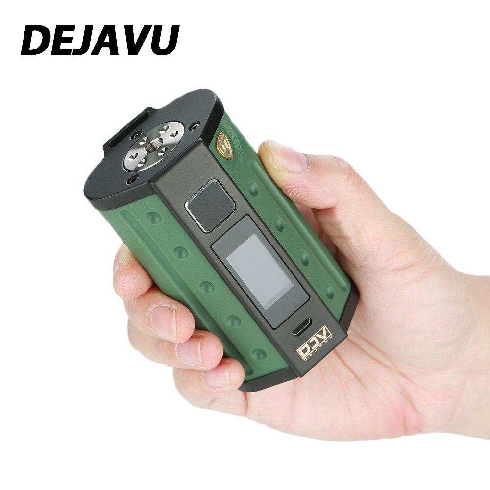 Original DEJAVU DJV D7 180 W écran tactile TC boîte MOD avec GX180 UTC écran tactile puce et HD couleur écran pas de batterie VS DEJAVU RDTA