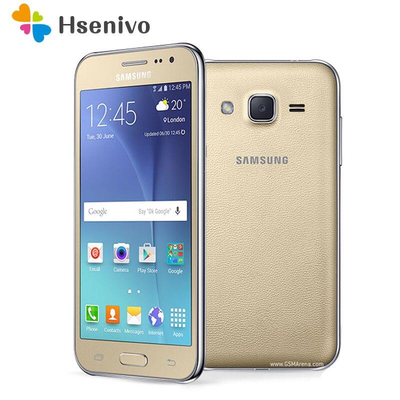 J200F Smartphone Samsung Galaxy J2 2015 SM J2 8GB ROM 1GB RAM LTE android J200 J200F