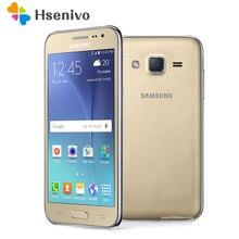 J200f Смартфон Samsung Galaxy J2 (2015) sm-j2 8 ГБ ROM '1gb ОЗУ LTE Android J200 j200f Мобильный Сотовые телефоны Оригинальный 5mp 4 г телефон