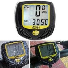 Waterproof Bicycle Speedometer Wireless Cycle Bike Meter Computer Odometer A2