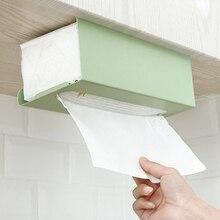 В скандинавском стиле под дверь шкафа Железный художественный держатель для бумажной ткани кухонная бумага висячий диспенсер поддержка кухонные принадлежности для ванной комнаты
