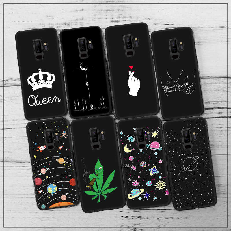TPU Silicone Pattern Protective Case For Samsung Galaxy J3 J7 J8 J4 J6 Plus 2018 Cover Coque For Samsung J4 2018 Phone Housing