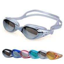20016 New Arrival Unisex Adult Coating Mirrored Sport Water Sportswear Anti Fog Anti UV Waterproof Swimming Goggles Glasses
