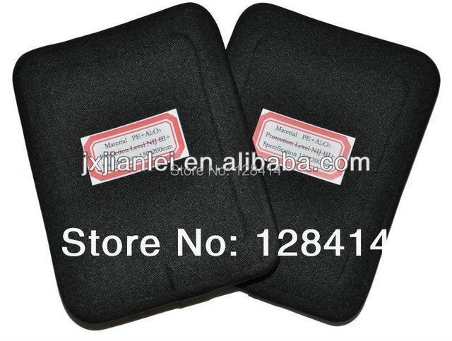Free Shipping! Two Pieces 6'' x 8'' NIJ III+ Bulletproof Side Panels Set / NIJ level 3 Plus Stand Alone AK47 & SS109 & M80 ESAPI