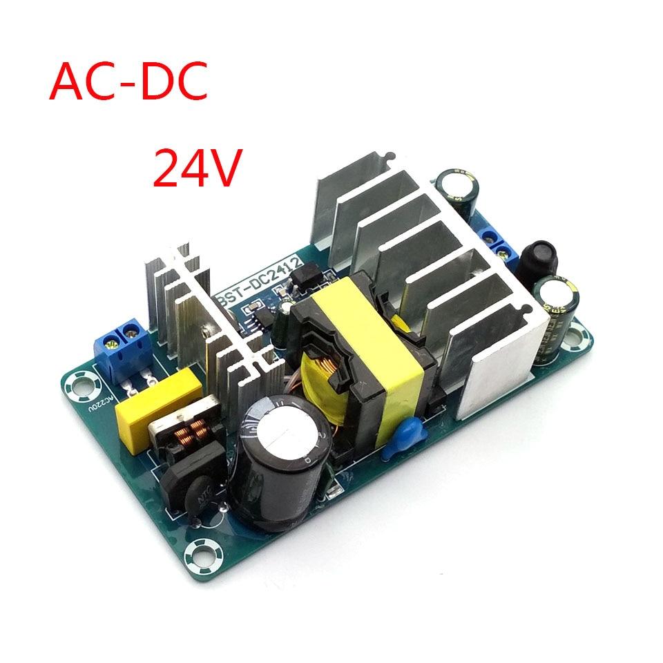 Novo 100w AC-DC conversor 110v 220v para 24v dc 4a 6a transformador de comutação da fonte alimentação