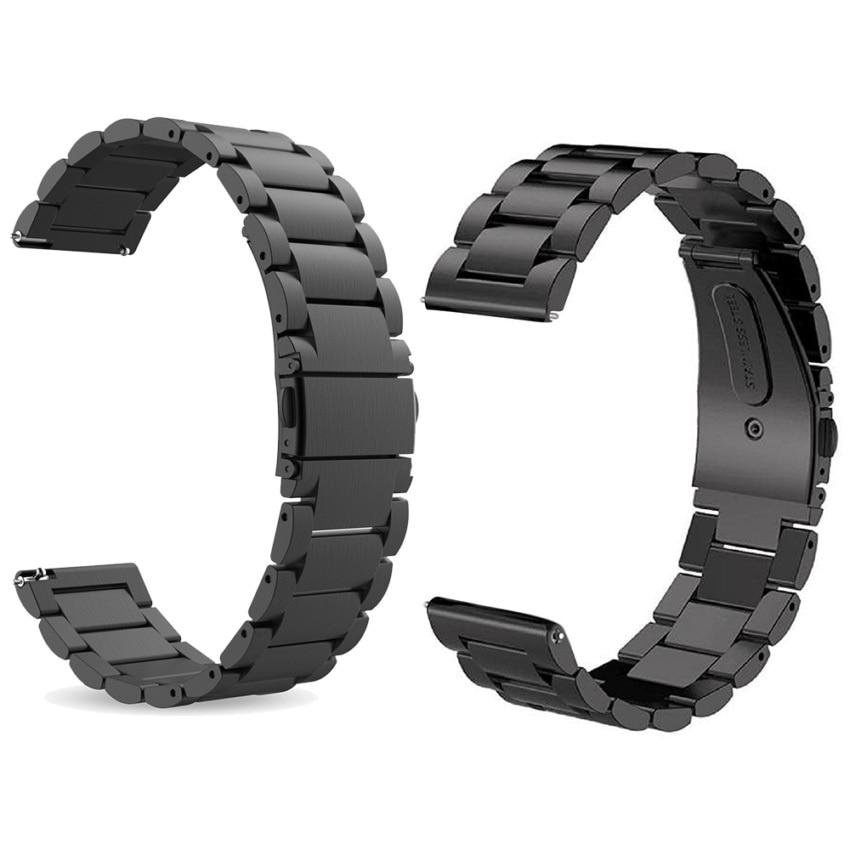 imágenes para Engranajes reemplazo s3 22mm de metal de acero inoxidable de $ number puntos correa de pulsera para samsung gear s3 frontier/s3 classic smart watch