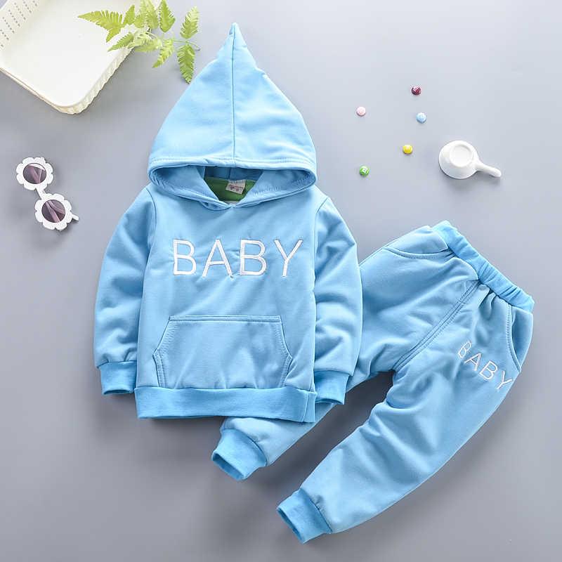 Bé gái Bộ quần áo mùa xuân, mùa thu bé sơ sinh giày thể thao phù hợp với áo khoác + quần 2 bộ cho Bebe bé gái trẻ sơ sinh tracksuits