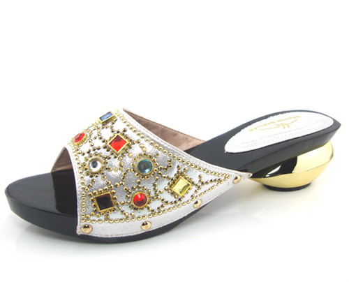 ФОТО good looking African style sandals for party,guaranteed quality ladies shoes with rhinestones! !!HFS1-34