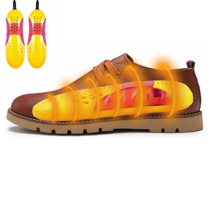 Chaussures Chauffage Sèche Voiture De Course Forme Voilet Lumière Sèche-Chaussures Pied Protecteur Boot Odeur Déodorant Déshumidification Dispositif 220 v 10 w UE Plug