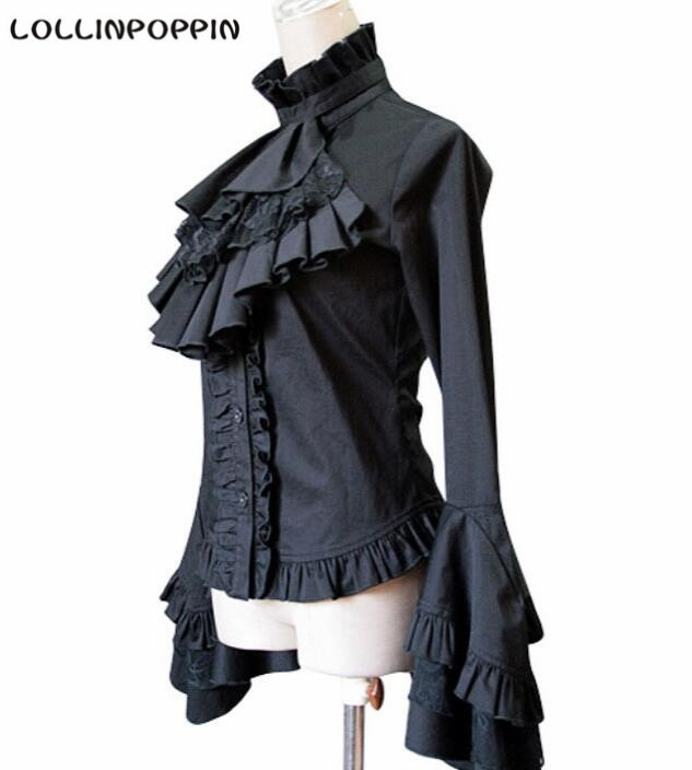 Blouses Gothic Back New