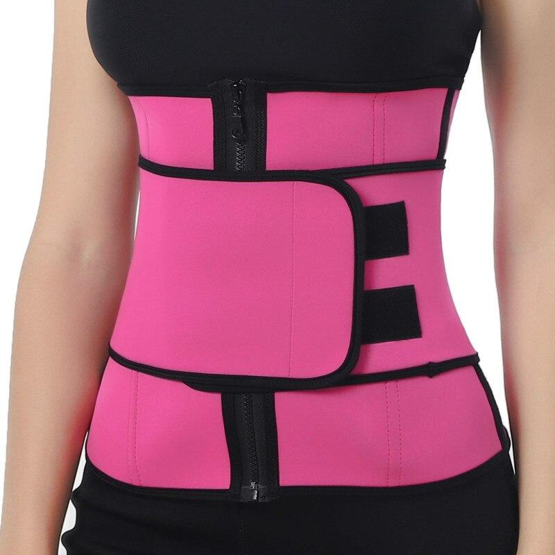 Women Slimming Belt Control Waist Trainer Cincher Faja Corset Body Shaper Belt Modeling Strap Waist Trimmer Girdle Belt