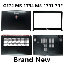 Brand New Laptop Case Cover For MSI GE72 MS 1794 MS 1791 7RF Top Cover /LCD Bezel/Palmrest/Bottom Base Cover Case
