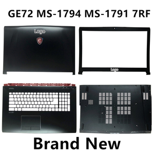 Image 1 - Brand New Laptop Case Cover For MSI GE72 MS 1794 MS 1791 7RF Top Cover /LCD Bezel/Palmrest/Bottom Base Cover Case