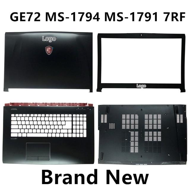 Совершенно новый чехол для ноутбука MSI GE72 MS 1794 7RF, верхняя крышка/жк дисплей/упор для рук/нижняя крышка корпуса